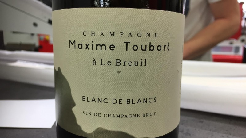 Champagne Maxime TOUBART : CALAGE MACHINE